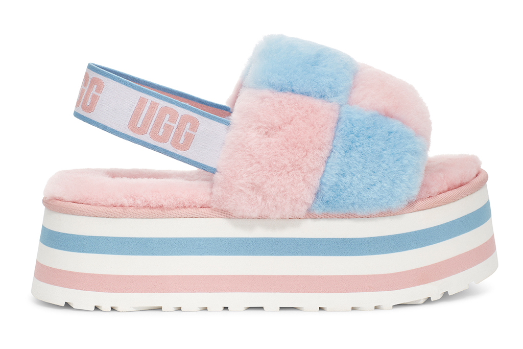 UGG Disco Checkered Slide for Pride