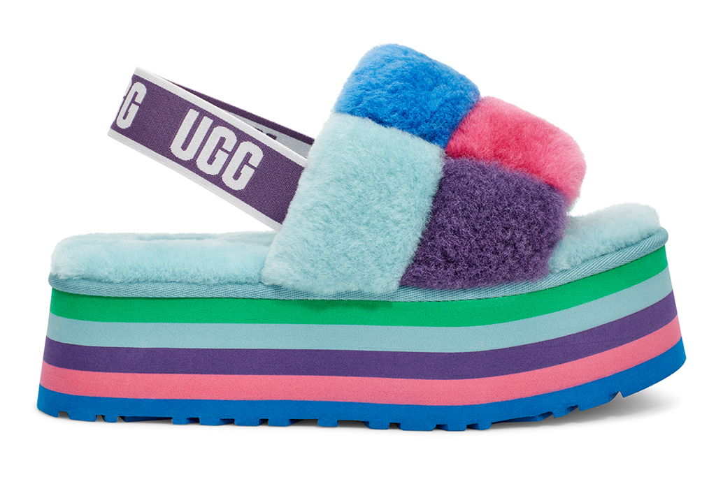 UGG purple rainbow Stripes Pride